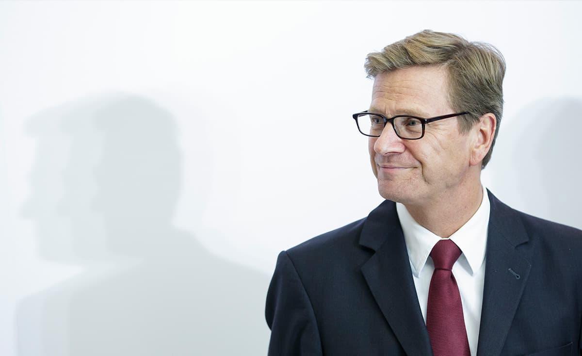 Guido Westerwelle, Founder of Westerwelle Foundation